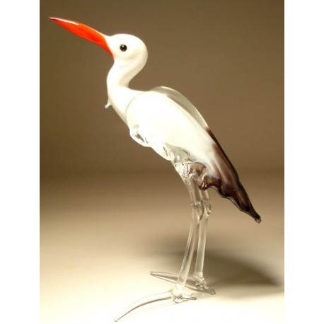 Glass Stork Egret