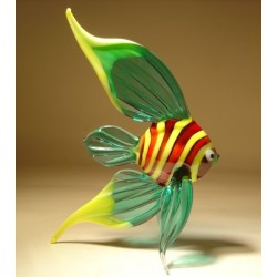 Aqua Angelfish Figurine