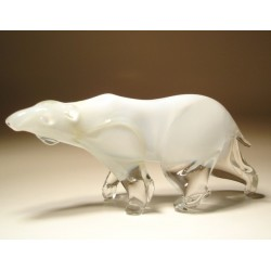 Glass Polar Bear