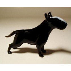 Glass Dog Pittbull - Black