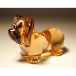 Glass Dog Skye Terrier