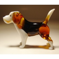 Glass Dog Beagle
