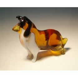 Glass Dog Collie