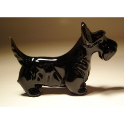 Glass Dog Scottish Terrier