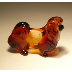 Glass Dog Pekingese