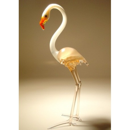 Glass Flamingo