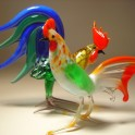 Glass Roosters