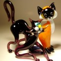 Glass Cats